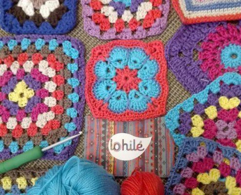 taller de crochet, grannys