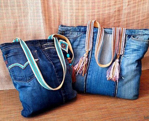 Taller de bolsos vaqueros