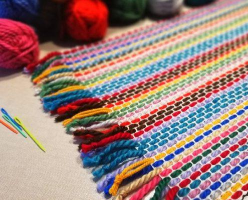 taller para nilos de alfombra de lana